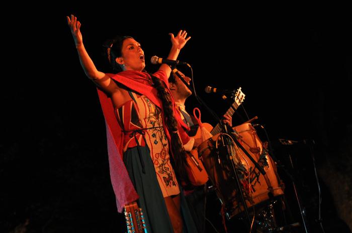 El próximo sábado, La Charo le canta a Mercedes Sosa