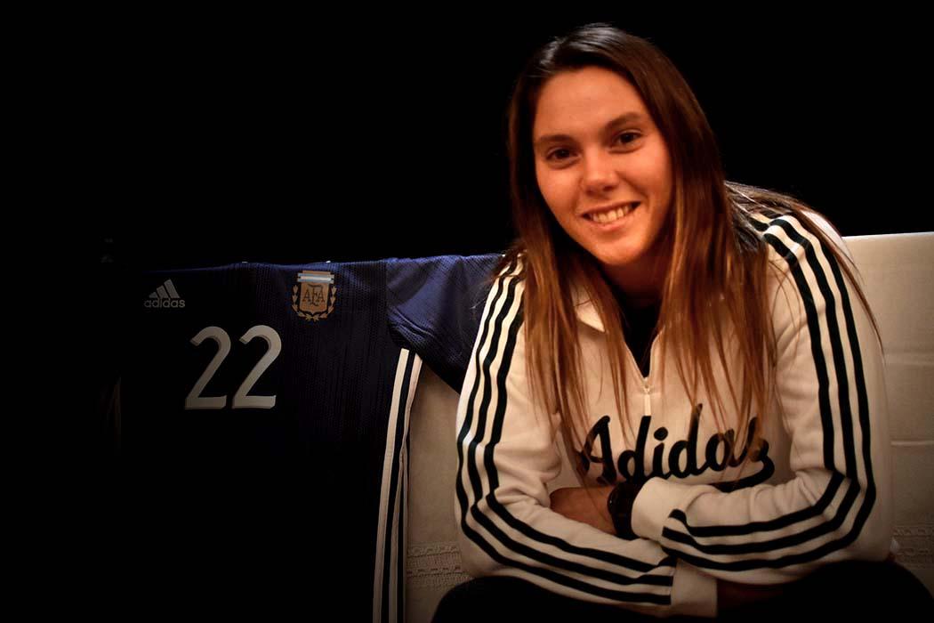 Fútbol Femenino: Menéndez en la preselección para los Panamericanos