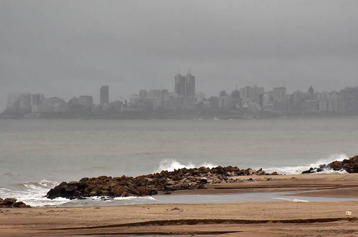 Temporal en Mar del Plata: suspenden las clases del turno tarde