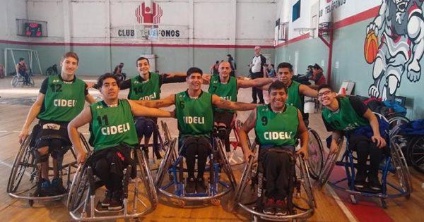 Básquet Adaptado: Cideli ganó invicto el cuadrangular en Mar del Plata