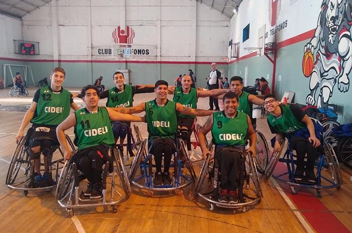 Cideli y Cedich disputarán la final del torneo de básquet adaptado