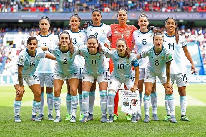 Histórico: Argentina obtuvo su primer punto en un mundial de fútbol femenino