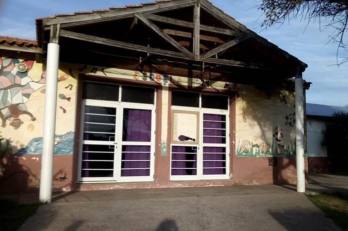 Cuatro meses después, la escuela de Playa Chapadmalal tiene gas