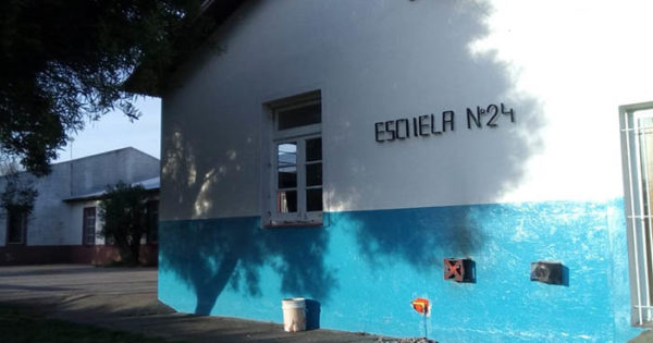 Secundaria N°71: con caloventores y promesas, se reanudan las clases