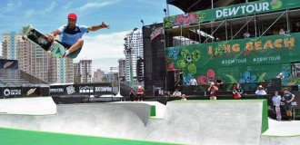 Skate: cinco marplatenses en el Dew Tour de California