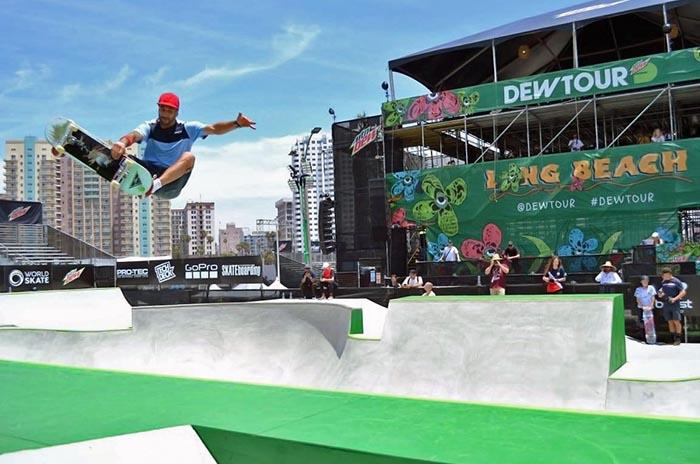 World Roller Games: Matías Dell Olio finalizó cuarto en Barcelona