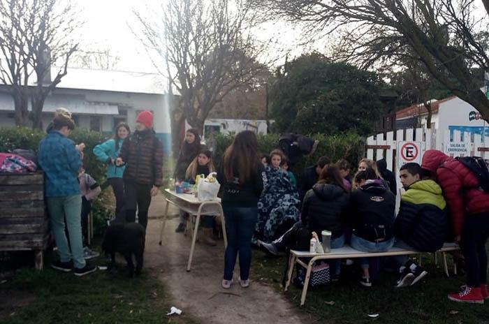 """Escuela N°71 sin gas ni agua: """"Podría haber sido un desastre"""""""