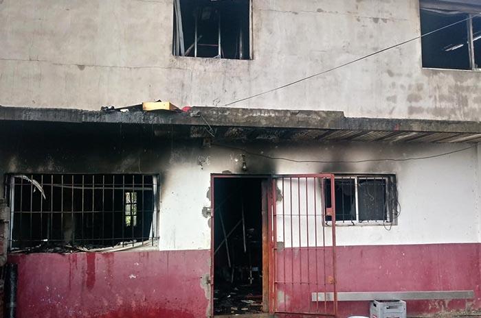 Una familia perdió todo al incendiarse su casa: piden ayuda