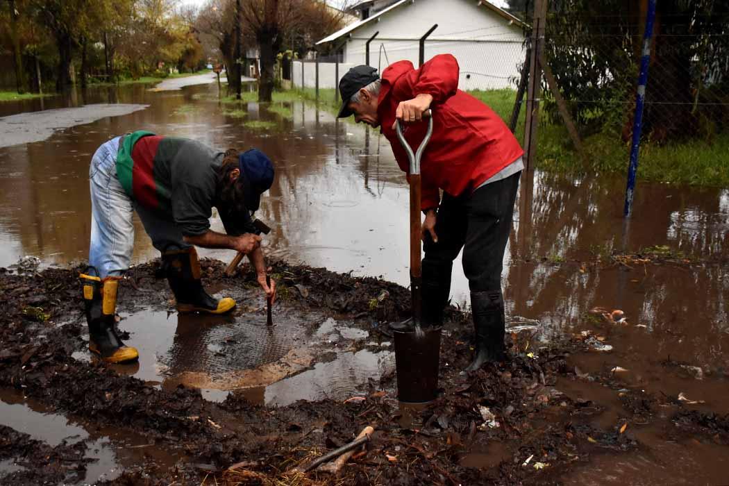 Temporal en Mar del Plata: barrios anegados y vecinos indignados