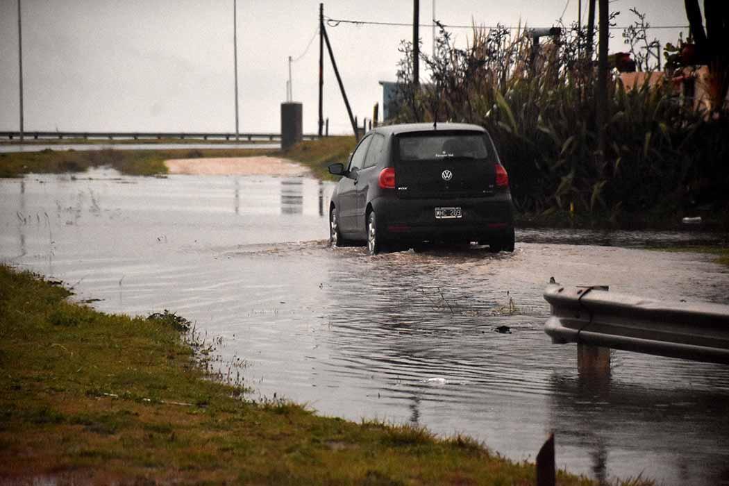 Por el temporal, vuelven a suspender las clases en Mar del Plata