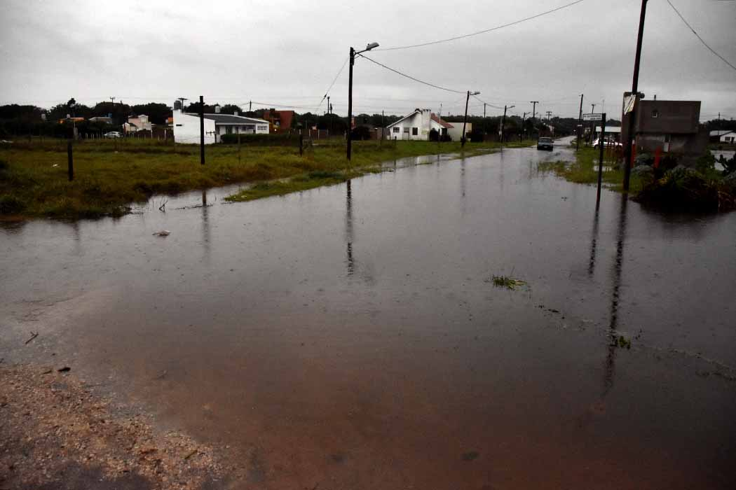 Temporal en Mar del Plata: también suspenden las clases de la tarde