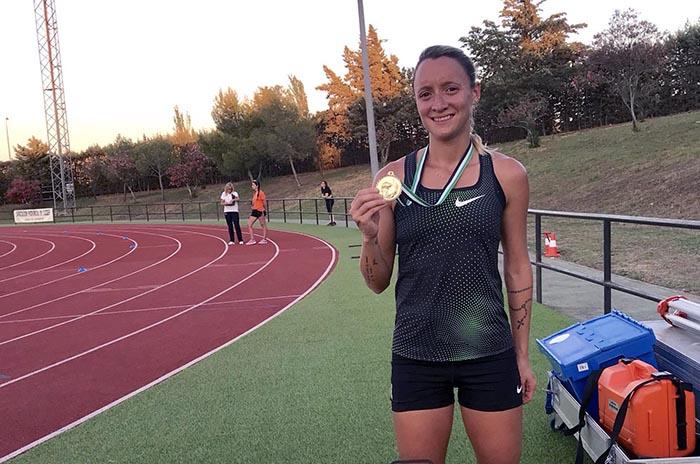 Atletismo: Florencia Borelli obtuvo un nuevo triunfo en España