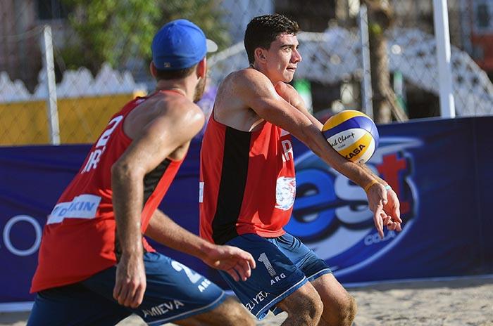 Vóley Playa: Mauro Zelayeta quedó eliminado en octavos de final