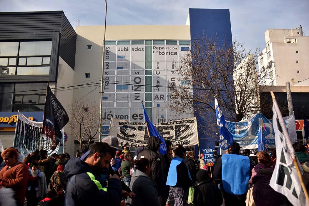 Jornada ollas populares y protesta de organizaciones sociales