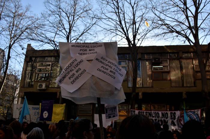 "Docentes municipales contra Distefano: ""No nos ha respetado"""