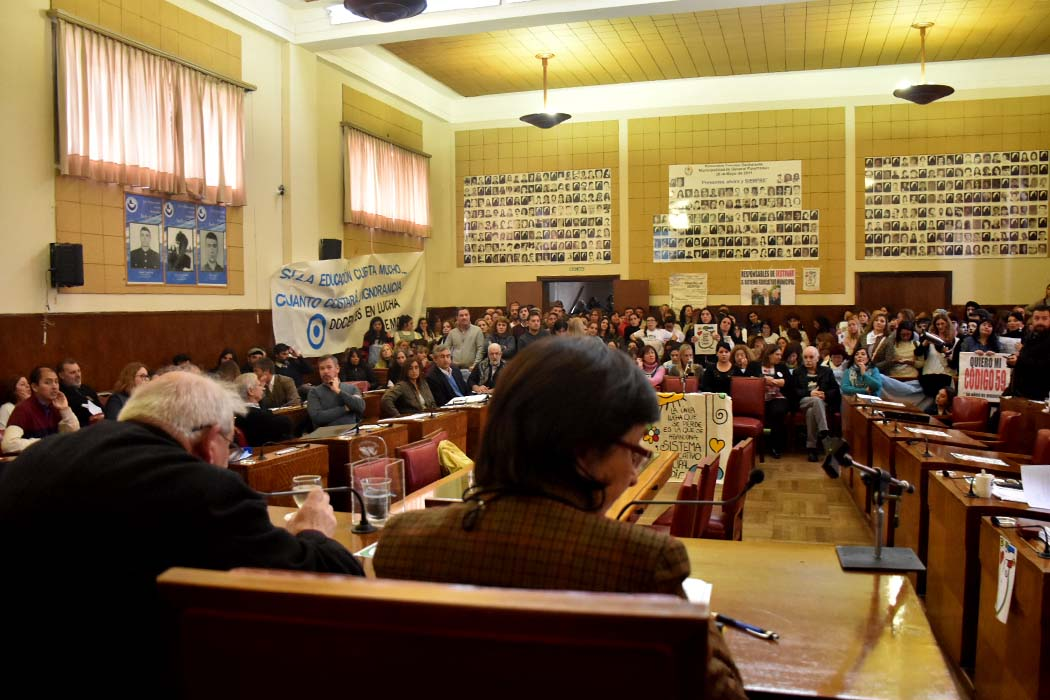 Faltazo de Distéfano y malestar en la sesión especial del Concejo
