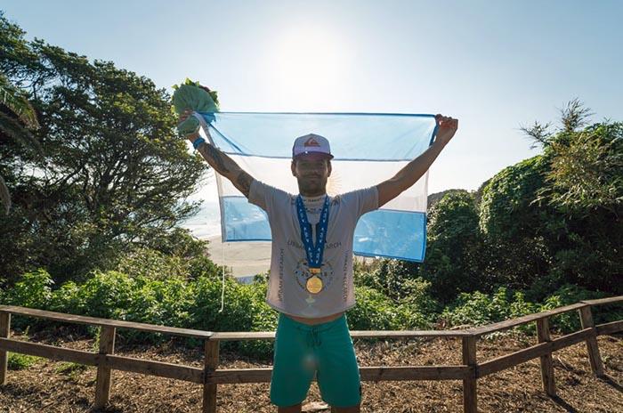 Surf: Santiago Muñiz vuelve al circuito tras seis meses