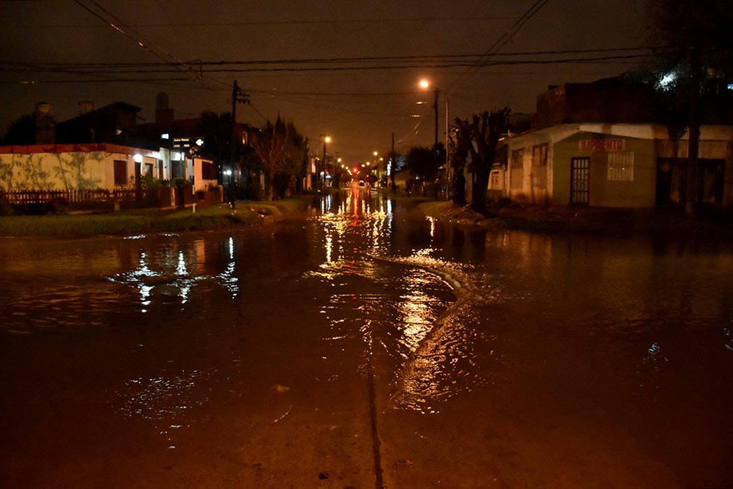 Temporal en Mar del Plata: imágenes del diluvio