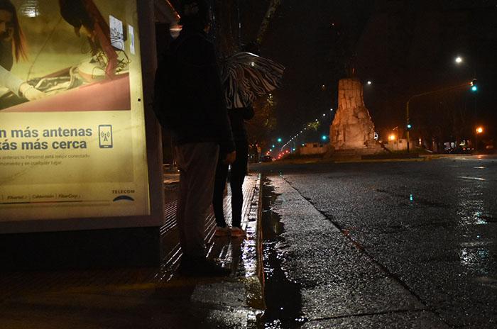 Rige un alerta meteorológico por lluvias y tormentas fuertes en Mar del Plata