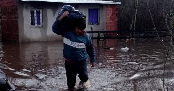Se inundó la casa a la que se mudó hace un año: necesita ayuda