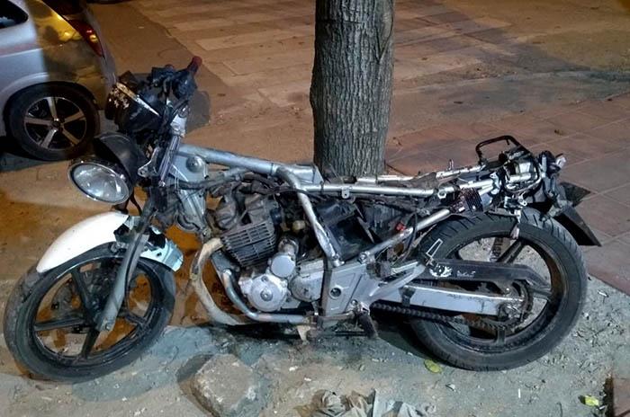 moto choque portugal alberti ddi