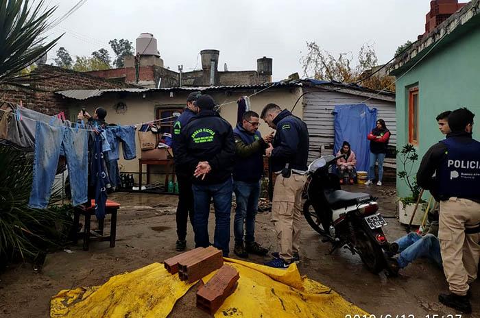 Tres detenidos por venta de drogas en el barrio Libertad