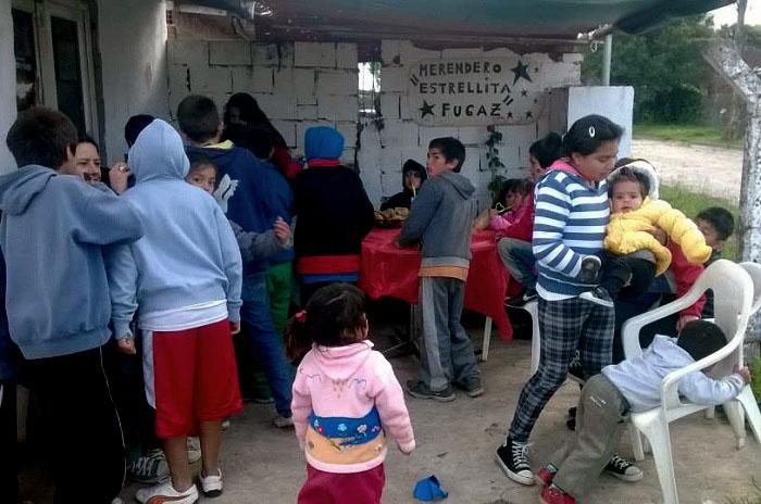 Organizan una jornada solidaria para ayudar a cuatro comedores