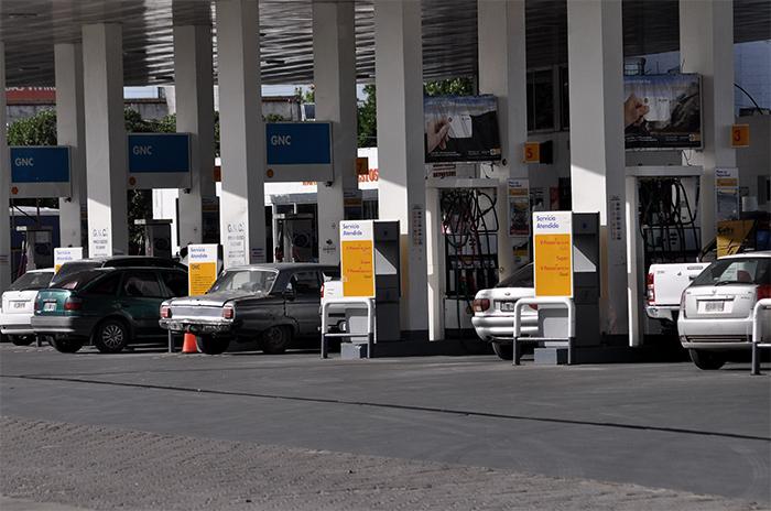 Son 15 las estaciones de GNC con servicio cortado