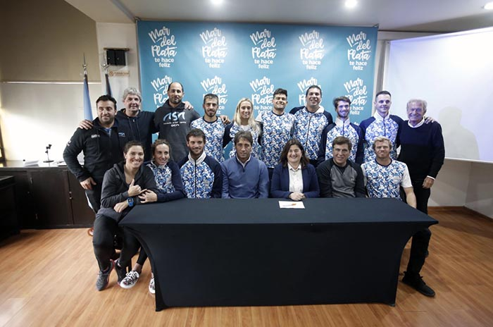 Juegos Panamericanos: despedida para el equipo argentino de surf