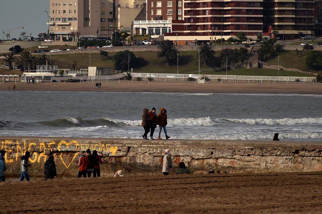 Mucho frío y nubes: cómo sigue el tiempo en Mar del Plata