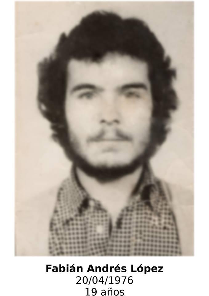 Fabián Andrés López Corrales - juicio subzona 15