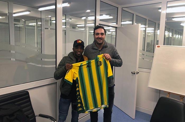 Aldosivi contrató al volante colombiano Hernán Burbano