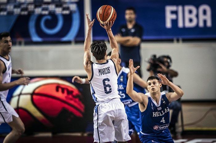 """Mundial U19: Argentina venció a Grecia con un gran """"Juani"""" Marcos"""