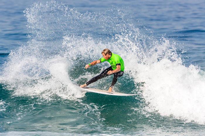 Surf: Muñiz y Usuna, eliminados del Ballito Pro
