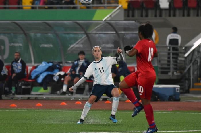 Lima 2019: Argentina venció a Panamá en el fútbol femenino
