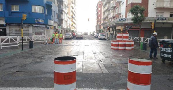 """Remodelación de la peatonal: Arroyo apuntó contra """"una obra mal hecha"""""""