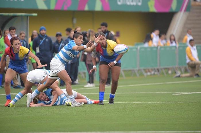 Panamericanos: debut con derrota para el seven femenino