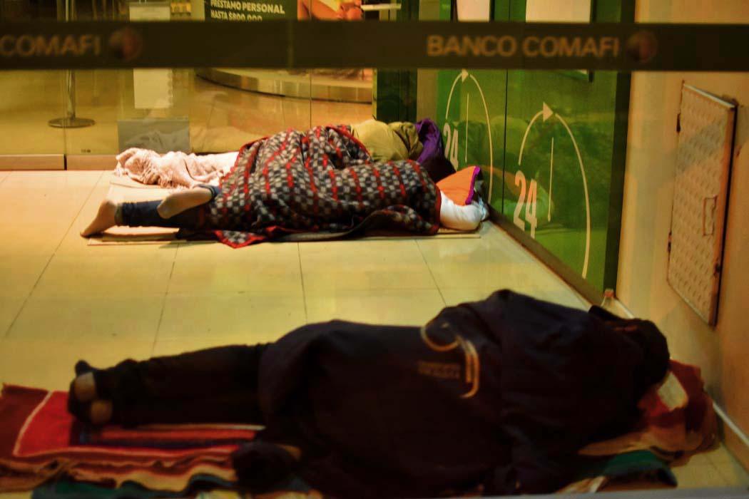 El primer censo popular relevó a 437 personas en situación de calle