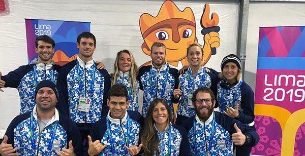 Así llegan los marplatenses al debut panamericano del surf