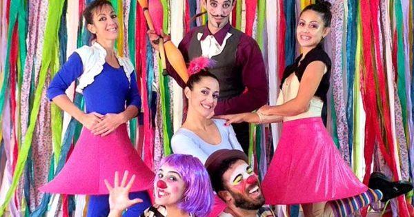 Un circo ideal vuelve al Centro Cultural Osvaldo Soriano