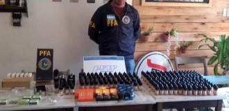 Incautan más de 4,5 millones de pesos en mercadería ilegal