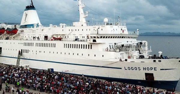 """Logos Hope en Mar del Plata: cómo funcionará la """"biblioteca flotante"""""""