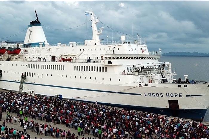 La biblioteca flotante más grande del mundo en Mar del Plata