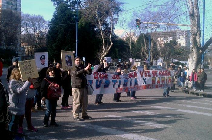 Caso Ramiro Agüero: familiares pidieron justicia en el centro