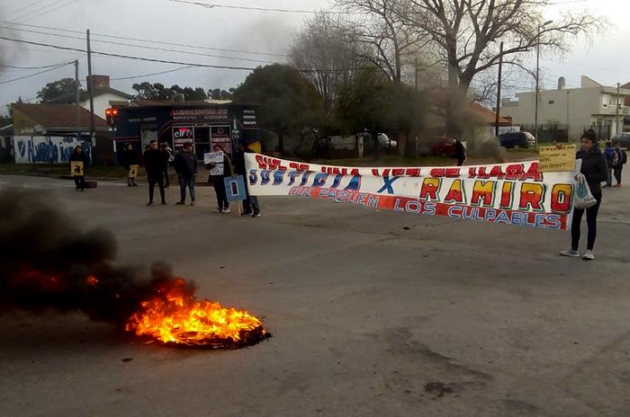 """Piden justicia por Ramiro Agüero: """"Fue intencional, no fue un accidente"""""""