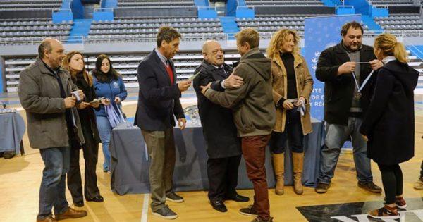 Lima 2019: Arroyo reconoció a los deportistas marplatenses