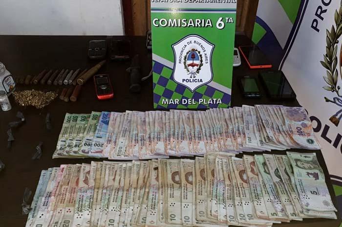Dos detenidos por venta de droga en el barrio Libertad