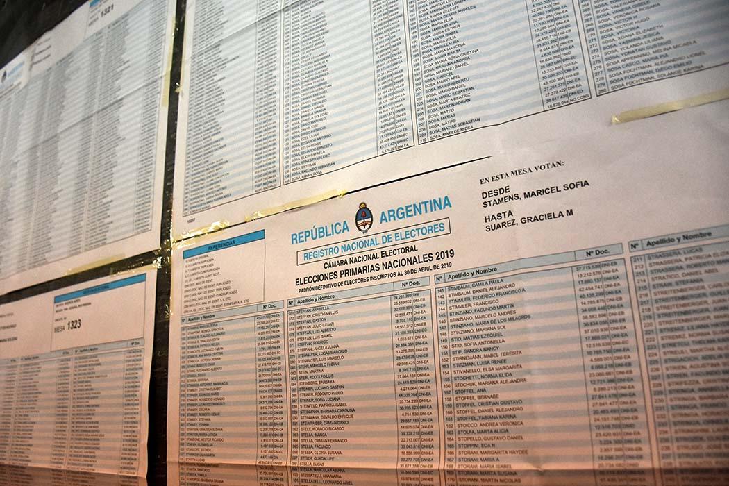 ¿Dónde voto?: el padrón electoral de argentinos y extranjeros