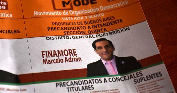 El último precandidato oficializado que terminó con 400 votos