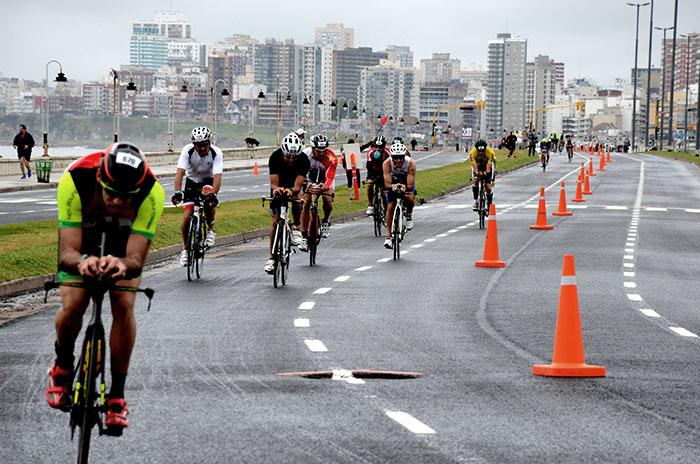 Ironman en Mar del Plata: los cortes de tránsito y cambios en recorridos de colectivos
